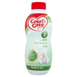 Cow & Gate First Infant Milk Ready To Feed Milk 1 Litre
