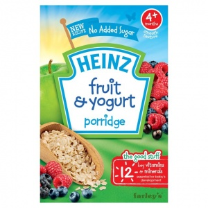Heinz 4 Month Breakfast Fruit & Yogurt 125g