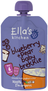 Ella's Kitchen Baby Brekkie Blueberry 'n Pear 100g