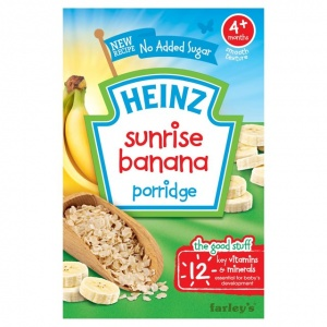 Heinz 4 Month Sunrise Banana Cereal 125g