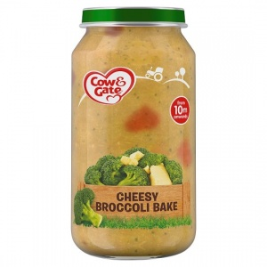 Cow & Gate 10mths+ Cheesy  Broccoli Bake 250g Jar