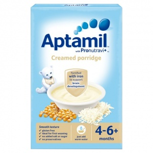 Aptamil 4-6 Month Creamed Porridge 125g