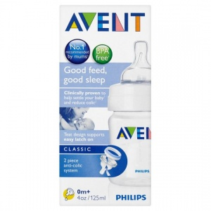 Avent Bottle Classic 125ml/4oz