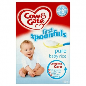 Cow & Gate 4-6 Month Pure Baby Rice 100g