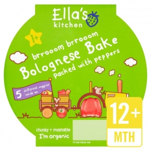 Ella's Kitchen Stage 4 Little Big Meal Bolognese Bake 200g