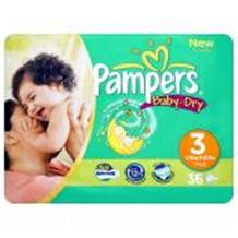 Pampers Baby Dry Carry Pack Size 3 Midi 30 per pack (4-9 Kgs)