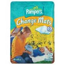 Pampers Change Mats 12
