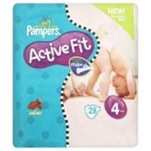 Pampers Active Fit Carry Pack Size 4 Maxi 24 per pack (7-18 Kgs)