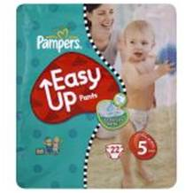 Pampers Easy Ups Carry Pack Size 5 Junior 20 (12-18 Kgs)