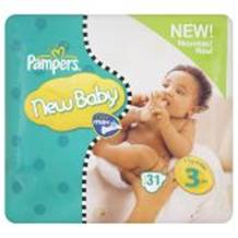Pampers New Baby Size 3 (4-7 Kgs) 28 per pack