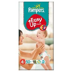 Pampers Easy Ups Size 4 Maxi (8-15 Kgs) 50 per pack
