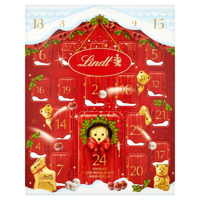 Lindt Advent Calendar Calendar Template 2016
