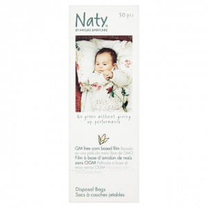 Naty Babycare Eco Nappy Bags 50 Pack
