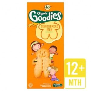Organix 12 Month Gingerbread Men 135g