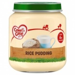 Cow & Gate 6 Mth+ Rice Pudding 125g Jar