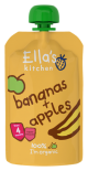 Ella's Kitchen Stage 1 Organic Bananas & Apples 120g