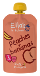 Ella's Kitchen Stage 1 Organic Peaches & Bananas 120g