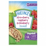 Heinz 10 Month Strawberry, Raspberry & Blueberry  Muesli 200g