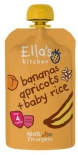 Ella's Kitchen Stage 1 Organic Bananas, Apricots & Baby Rice 120g