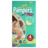Pampers Baby Dry Economy Pack Size 4 Maxi 44 (7-18 Kgs)