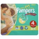 Pampers Baby Dry Carry Pack Size 4 Maxi 25 per pack (7-18 Kgs)