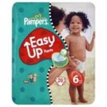Pampers Easy Ups Carry Pack Size 6 Extra Large 19 (16+ Kgs)