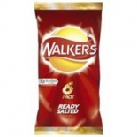 Walkers Ready Salted Crisps 6 Pack