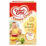 Cow & Gate 10 Month Fruity Crunch Cereal 250g