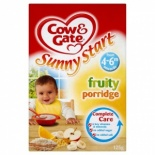 Cow & Gate 4-6 Month Fruity Porridge 125g