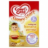 Cow & Gate 7 Month Multigrain Banana Porridge 200g