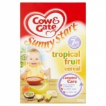 Cow & Gate 7 Month Tropical Fruit Cereal 200g