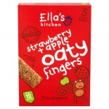Ella's Kitchen 12 Months+ Organic Strawberry & Apple Nibbly Fingers 5 x 25g