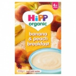 Hipp 4 Month Organic Banana & Peach Breakfast 230g