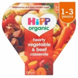 Hipp 12 Month Organic Hearty Vegetable & Beef Casserole 230g