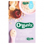 Organix Stage 2 Banana & Plum Porridge 200g