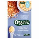 Organix Stage 2 Mini Multigrain Puffs 90g