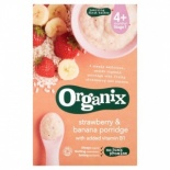 Organix 6 month+ Strawberry & Banana Porridge 120g