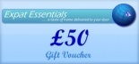 Expat Essentials Gift Vouchers