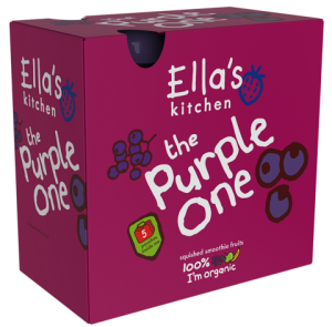 Ella's Kitchen Organic Smoothie ''The Purple One'' 5 Pack