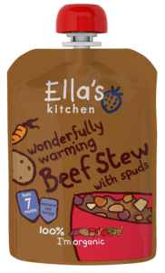 Ella's Kitchen Stage 2 Organic Beef Stew with Spuds 130g