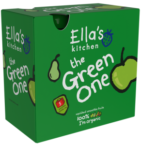 Ella's Kitchen Organic Smoothie ''The Green One'' 5 Pack
