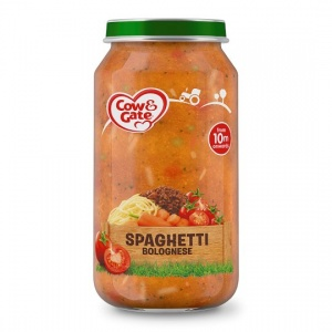 Cow & Gate 10 Month+ Spaghetti Bolognese 250g Jar