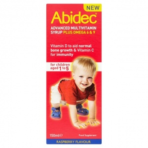 Abidec Mutivitamin Syrup 150ml
