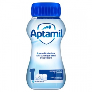 Aptamil First Ready to Feed Milk 200ml Bottle