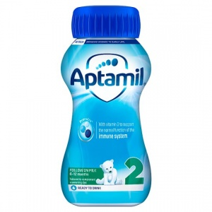 Aptamil Follow On Liquid Milk 200ml Bottle