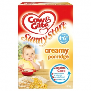Cow & Gate 4-6 Month Creamy Porridge 125g