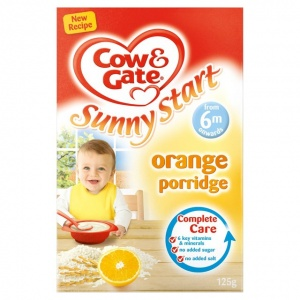 Cow & Gate 4-6 Month Orange Porridge 125g