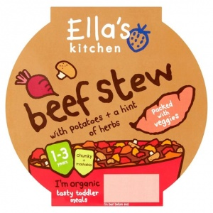 Ella's Kitchen Stage 4 Little Big Meal Beef Stew 200g