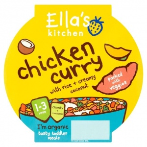 Ella's Kitchen Stage 4 Little Big Meal Chicken Curry 200g
