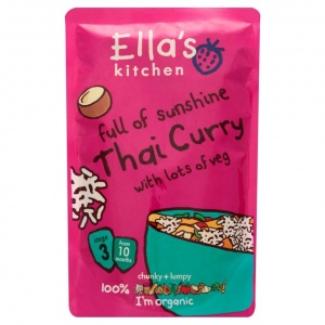Ella's Kitchen Stage 3 Organic Thai Curry with Veg 190g